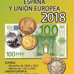 Guerra 2018 - Monedas y billetes España y Europa